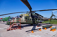 Helicopter-DataBase Photo ID:16343 Mi-24VM-3 Rostvertol 341 white cn:340558101