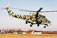 Helicopter-DataBase Photo ID:14284 Mi-24VP Baltic Fleet 38 red
