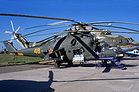 Helicopter-DataBase Photo ID:17593 Mi-24PK-2 Russian Air Force 48 yellow