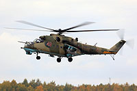 Helicopter-DataBase Photo ID:13453 Mi-24P Russian Air Force 49 red