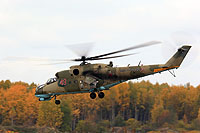 Helicopter-DataBase Photo ID:13454 Mi-24P Russian Air Force 49 red