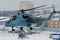 Helicopter-DataBase Photo ID:12174 Mi-24K MVZ Moscow Helicopter Plant  cn:3532013913271