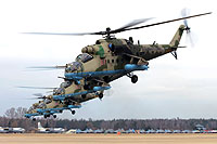 Helicopter-DataBase Photo ID:14890 Mi-24VM-3 Russian Air Force RF-13027 cn:34075817157