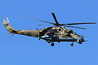 "Helicopter-DataBase Photo ID:17056 Mi-24VM-3 with system L-370 ""Vitebsk"" Russian Aerospace Force RF-13027 cn:34075817157"