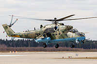 Helicopter-DataBase Photo ID:16454 Mi-24VM-3 Russian Air Force RF-13383 cn:34075817166