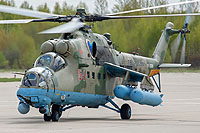 Helicopter-DataBase Photo ID:15340 Mi-24VM-3 Russian Air Force RF-13384