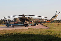 Helicopter-DataBase Photo ID:14842 Mi-24VM-3 Russian Air Force RF-13664