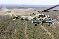 Helicopter-DataBase Photo ID:14551 Mi-24VM-3 Russian Air Force RF-19375