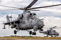Helicopter-DataBase Photo ID:16380 Mi-24VP Baltic Fleet RF-34208 cn:3532584910470