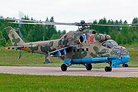 Helicopter-DataBase Photo ID:16366 Mi-24P Russian Air Force RF-91076 cn:3532433623395