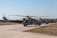 Helicopter-DataBase Photo ID:15639 Mi-24P Russian Aerospace Force RF-91078