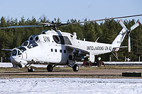 Helicopter-DataBase Photo ID:15515 Mi-24P United Nations RF-91245