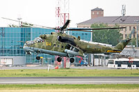 Helicopter-DataBase Photo ID:11422 Mi-24P Russian Air Force RF-91858 cn:3532432724478