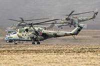 Helicopter-DataBase Photo ID:17873 Mi-24P Russian Air Force RF-92511