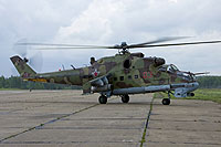 Helicopter-DataBase Photo ID:13080 Mi-24P Russian Air Force RF-92527