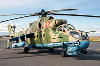 Helicopter-DataBase Photo ID:15643 Mi-24P Russian Air Force RF-93091 cn:3532432927386