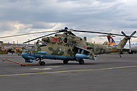 Helicopter-DataBase Photo ID:15977 Mi-24P Russian Air Force RF-93091 cn:3532432927386