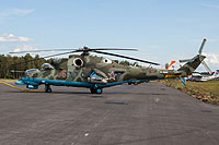 Helicopter-DataBase Photo ID:17689 Mi-24PN Russian Air Force RF-93162 cn:34012403011