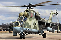 Helicopter-DataBase Photo ID:17617 Mi-24P Russian Air Force RF-93543