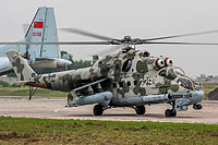 Helicopter-DataBase Photo ID:15864 Mi-24P Russian Air Force RF-93547 cn:3532433623572