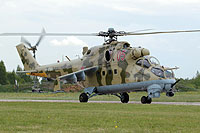 Helicopter-DataBase Photo ID:13975 Mi-24V Russian Air Force RF-93552 cn:3532421622489