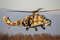 Helicopter-DataBase Photo ID:16364 Mi-24P Russian Air Force RF-93555