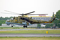Helicopter-DataBase Photo ID:11423 Mi-24P Russian Air Force RF-93575