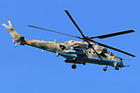 "Helicopter-DataBase Photo ID:17057 Mi-24VM-3 with system L-370 ""Vitebsk"" Russian Aerospace Force RF-94981 cn:34075817114"