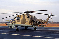 Helicopter-DataBase Photo ID:16490 Mi-24D 49th Combat Helicopter Regiment 016 cn:A1016