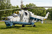 Helicopter-DataBase Photo ID:15738 Mi-24D 1st (37th) Army Aviation Wing 024 cn:103177