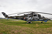 Helicopter-DataBase Photo ID:16920 Mi-24D 1st (37th) Army Aviation Wing 024 cn:103177