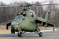 Helicopter-DataBase Photo ID:9189 Mi-24D (upgrade by WZL-1) 49th Army Aviation Base 169 cn:110169