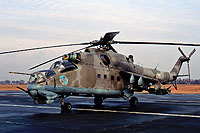 Helicopter-DataBase Photo ID:16613 Mi-24D 49th Combat Helicopter Regiment 175 cn:103175