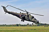 Helicopter-DataBase Photo ID:9163 Mi-24D (upgrade by WZL-1) 56th Army Aviation Base 456 cn:410456