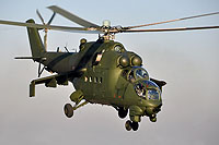 Helicopter-DataBase Photo ID:16504 Mi-24D (upgrade by WZL-1) 56th Army Aviation Base 456 cn:410456