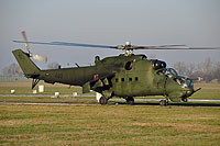 Helicopter-DataBase Photo ID:16540 Mi-24D (upgrade by WZL-1) 49th Army Aviation Base 460 cn:410460