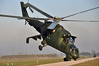 Helicopter-DataBase Photo ID:16542 Mi-24D (upgrade by WZL-1) 49th Army Aviation Base 460 cn:410460