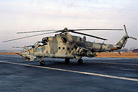 Helicopter-DataBase Photo ID:16491 Mi-24D 49th Combat Helicopter Regiment 461 cn:410461