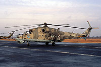 Helicopter-DataBase Photo ID:16492 Mi-24D 49th Combat Helicopter Regiment 584 cn:220584