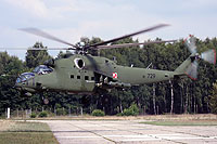 Helicopter-DataBase Photo ID:12575 Mi-24V (upgrade by Terma) 56th Combat Helicopters Regiment 729 cn:410729