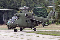 Helicopter-DataBase Photo ID:12588 Mi-24V (upgrade by Terma) 56th Combat Helicopters Regiment 729 cn:410729