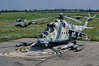 Helicopter-DataBase Photo ID:16495 Mi-24V 56th Combat Helicopters Regiment 731 cn:410731