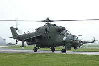 Helicopter-DataBase Photo ID:15711 Mi-24V (upgrade by WZL-1) 56th Army Aviation Base 732 cn:410732