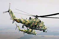 Helicopter-DataBase Photo ID:6078 Mi-24V 56th Combat Helicopters Regiment 735 cn:410735