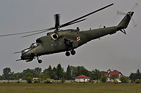 Helicopter-DataBase Photo ID:12618 Mi-24V (upgrade by WZL-1) 49th Army Aviation Base 735 cn:410735