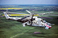 Helicopter-DataBase Photo ID:16894 Mi-24V 56th Combat Helicopters Regiment 735 cn:410735