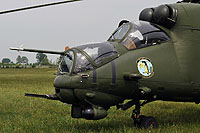 Helicopter-DataBase Photo ID:12612 Mi-24V (upgrade by WZL-1) 56th Army Aviation Base 738 cn:410738