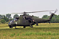 Helicopter-DataBase Photo ID:12613 Mi-24V (upgrade by WZL-1) 56th Army Aviation Base 738 cn:410738