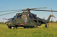 Helicopter-DataBase Photo ID:14866 Mi-24V (upgrade by WZL-1) 56th Army Aviation Base 739 cn:410739