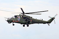 Helicopter-DataBase Photo ID:14862 Mi-24V (upgrade by WZL-1) 56th Army Aviation Base 741 cn:410741